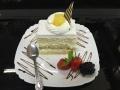 ananas cu blat de vanilie si decor de vanilie si ananascofetarie_romanesca_torturi_prajituri_londra